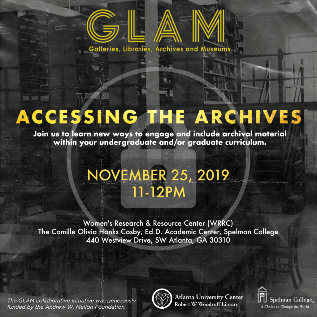 Accessing the Archives flyer