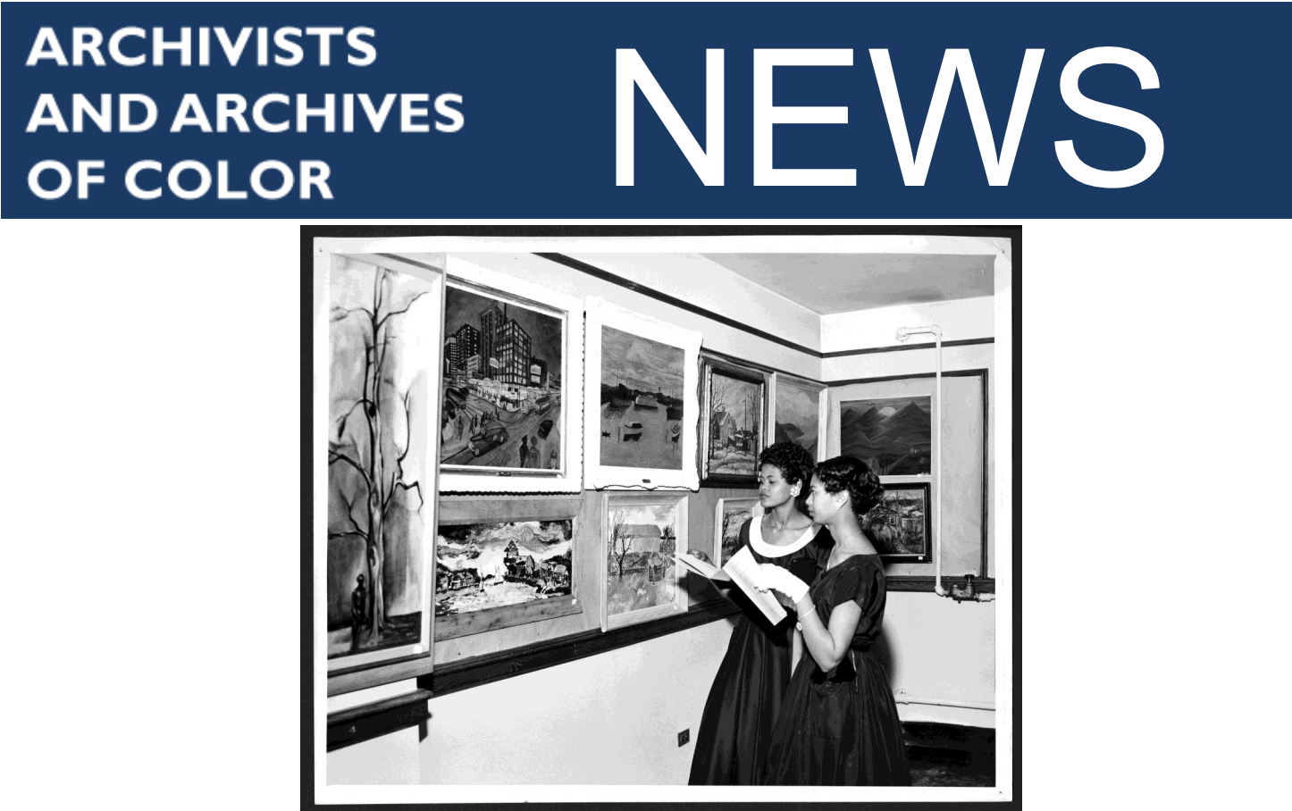 Archivists and Archives of Color News cover