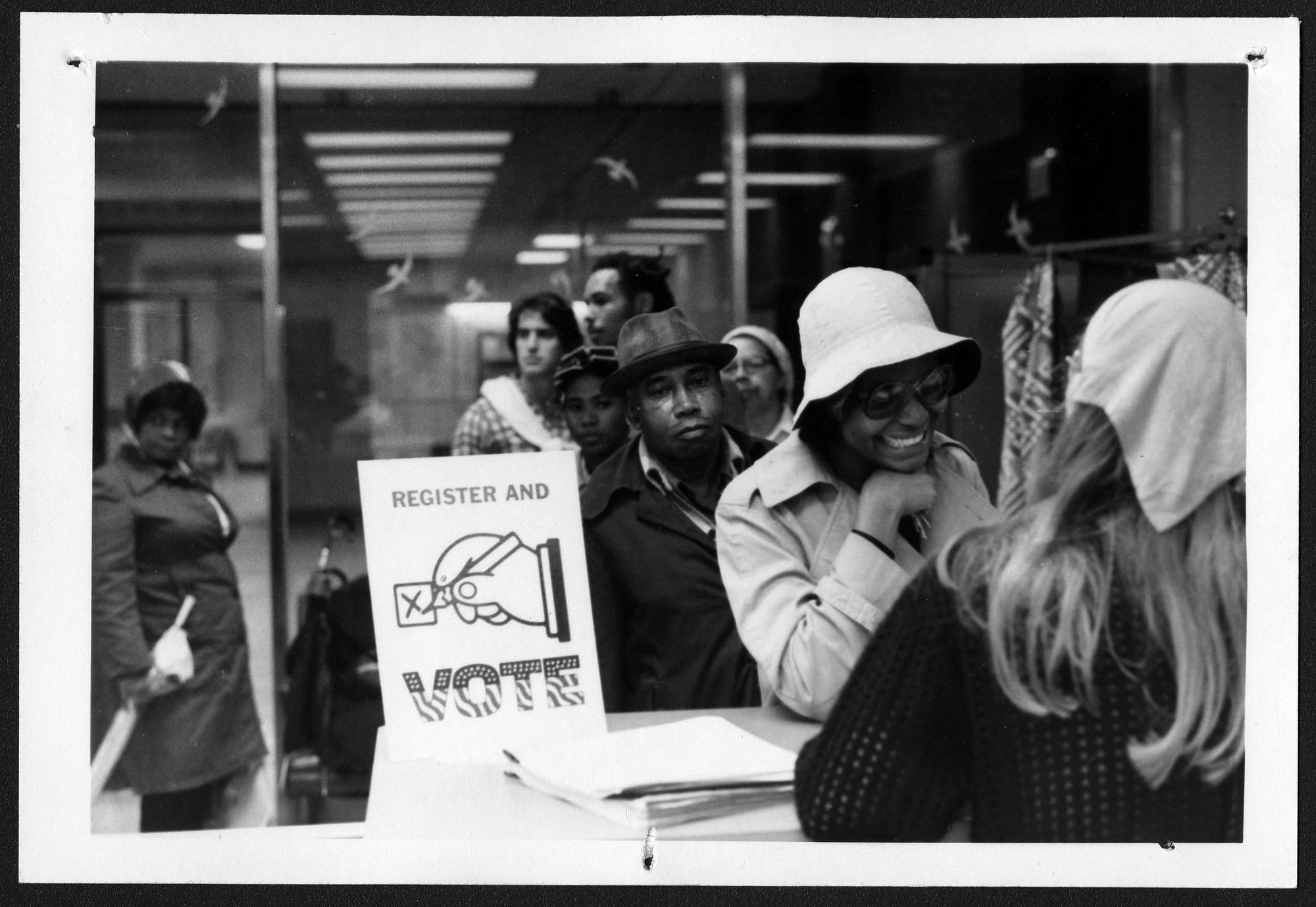 Register and Vote, Voter Education Project (Southern Regional Council), undated, Voter Education Project organizational records