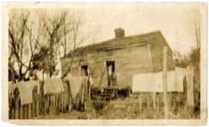 Shack Home, circa 1920 C. Eric Lincoln Collection