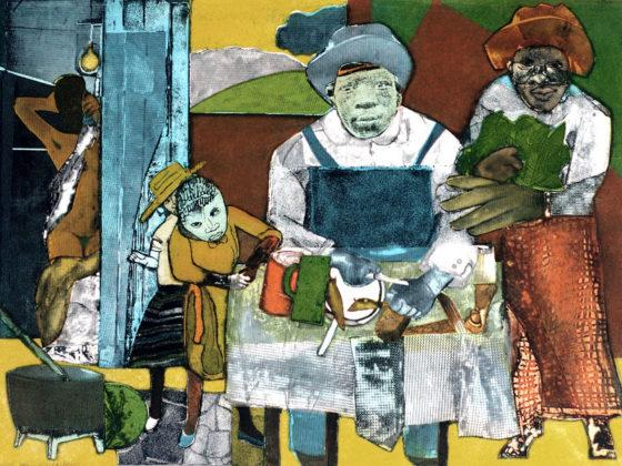 Romare Bearden, 1975, Clark Atlanta University Art Museum