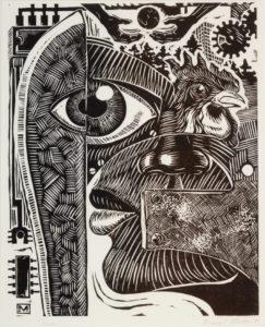 Ogun, Daniel Minter, 1991