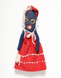 Cloth doll, Janie Hunter, c.1980