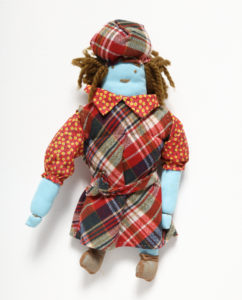 Textile doll, Janie Hunter, c.1980