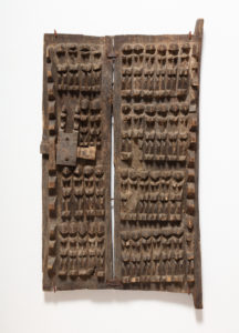 Two panel granary door, Dogon, Artist Unknown, n.d.