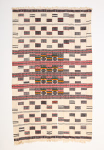 Strip cloth blanket, Artist Unknown, n.d.