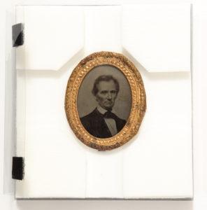 Abraham Lincoln Ambrotype, circa 1860, Boston, MA: George Clark, Jr. & Co.