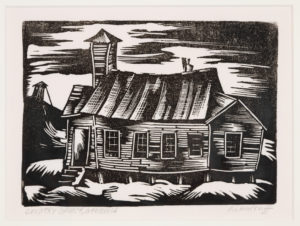 Country Church, Hale Aspacio Woodruff, 1935