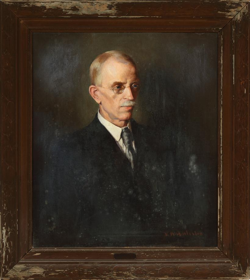 Myron Winslow Adams, Edwin A. Harlston, 1918