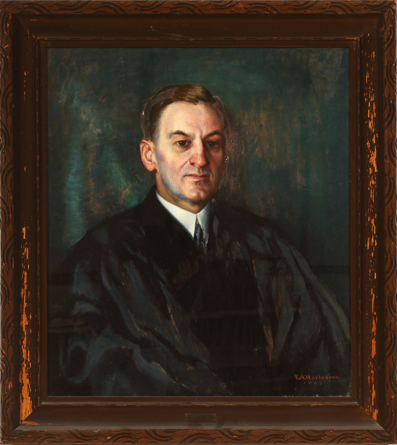 Portrait of Edward Twichell. Ware, Edwin A. Harlston, 1925