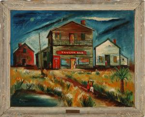 Louisiana Nocturne, Henry Wilmer Bannarn, 1945