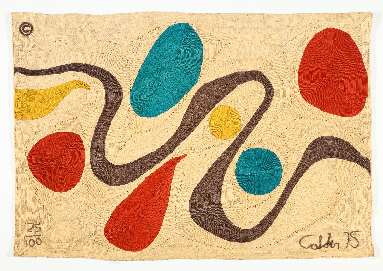 Turquoise, Alexander Calder, 1975