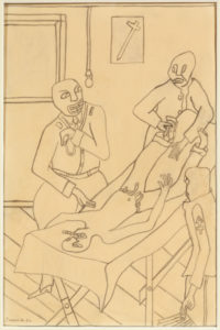 Infirmary, Lawrence, Jacob, 1917-2000, 1936, Spelman College Museum of Fine Art