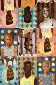 Untitled III, Derek Fordjour, 2012