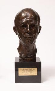 W.E.B. DuBois Bust, Alexander Portnoff, 1938