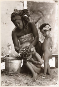 Bath Time-Yoruba Village,SC, William Anderson, 1975