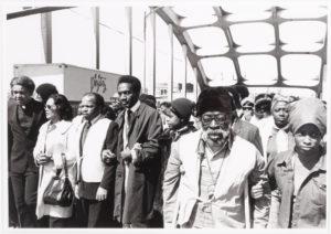 Selma March (Pettus Bridge Revisited)-Selma, AL, William Anderson, 1975