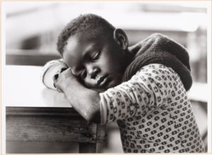 Boy Sleeping-Savannah, GA, William Anderson, 1978