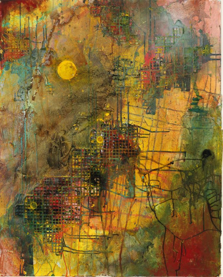 Moon in Sky, Carl Christian, 2006