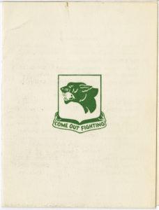 Reunion Invitation, Trezzvant W. Anderson, 1960, Trezzvant W. Anderson papers