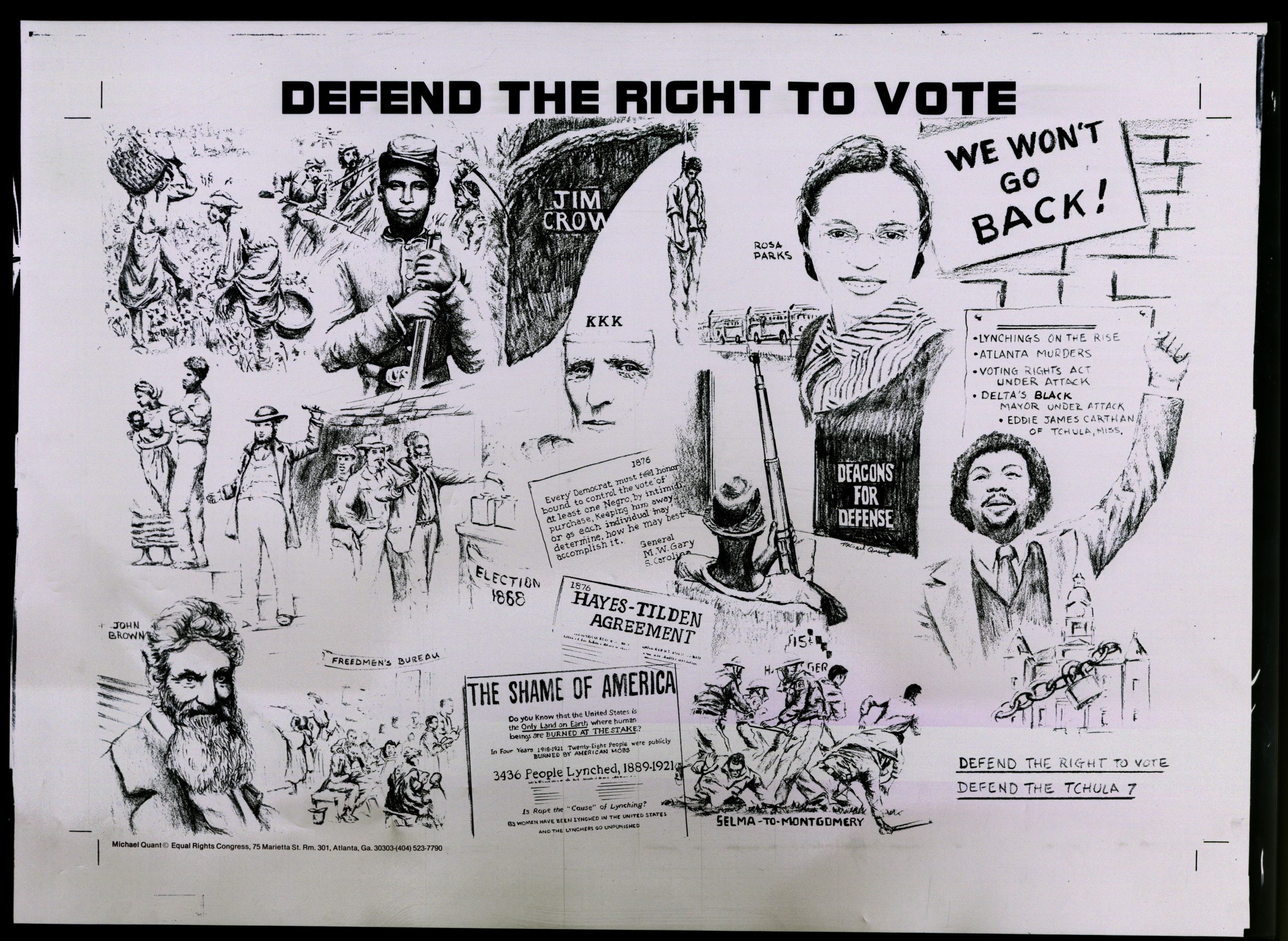 Defend the Right to Vote, circa 1975Political Posters Collection