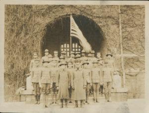 Military - WWI Training, Atlanta University, undated, Atlanta University photograph collection