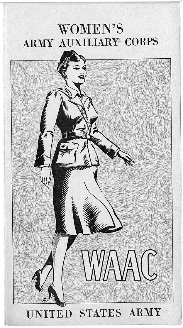 Women's Army Auxiliary Corps, United States Armycirca 1941-1942Rufus E. Clement Records
