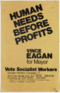 Human Needs Before Profits, 1977Political Posters Collection