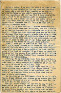 """""""Correspondence to Chaplain Nolan , Robert E. Penn, circa 1945-1946, Robert E. Penn collection"""""""