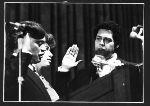 [Unidentified Swearing Ceremony]1978Maynard Jackson mayoral administrative records: Series F: Photographs