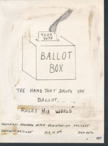 Hand That Drops the Ballot, Voter Education Project (Southern Regional Council)undated Voter Education Project organizational records
