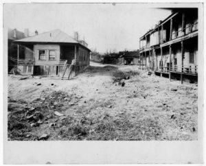 Dilapidated Slum Houses Neighborhood Union circa 1900 Neighborhood Union collection