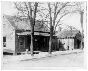 Two houses in Beaver Slide Neighborhood Union undated Neighborhood Union collection
