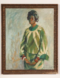 Lady in Green, Watson,  Barrington, ,