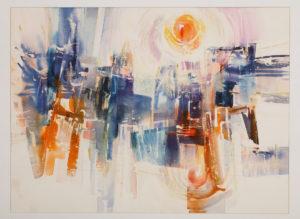 Winter Sun, Roberts,  Lucille Malkia, 1994, Artist