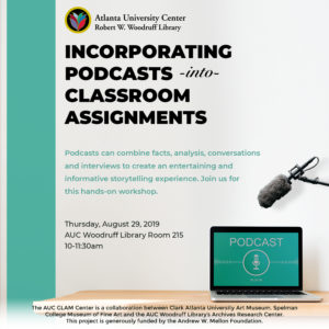 Incorporating Podcasts into Classroom Assignments flyer