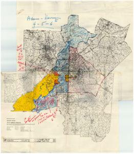 Atlanta Region, Grace Towns Hamilton, 1970,Grace Towns Hamilton papers