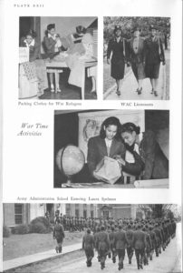 """War Time Activities"", The Story of Spelman College, Florence Matilda Read, 1961, ARC Book Collection"