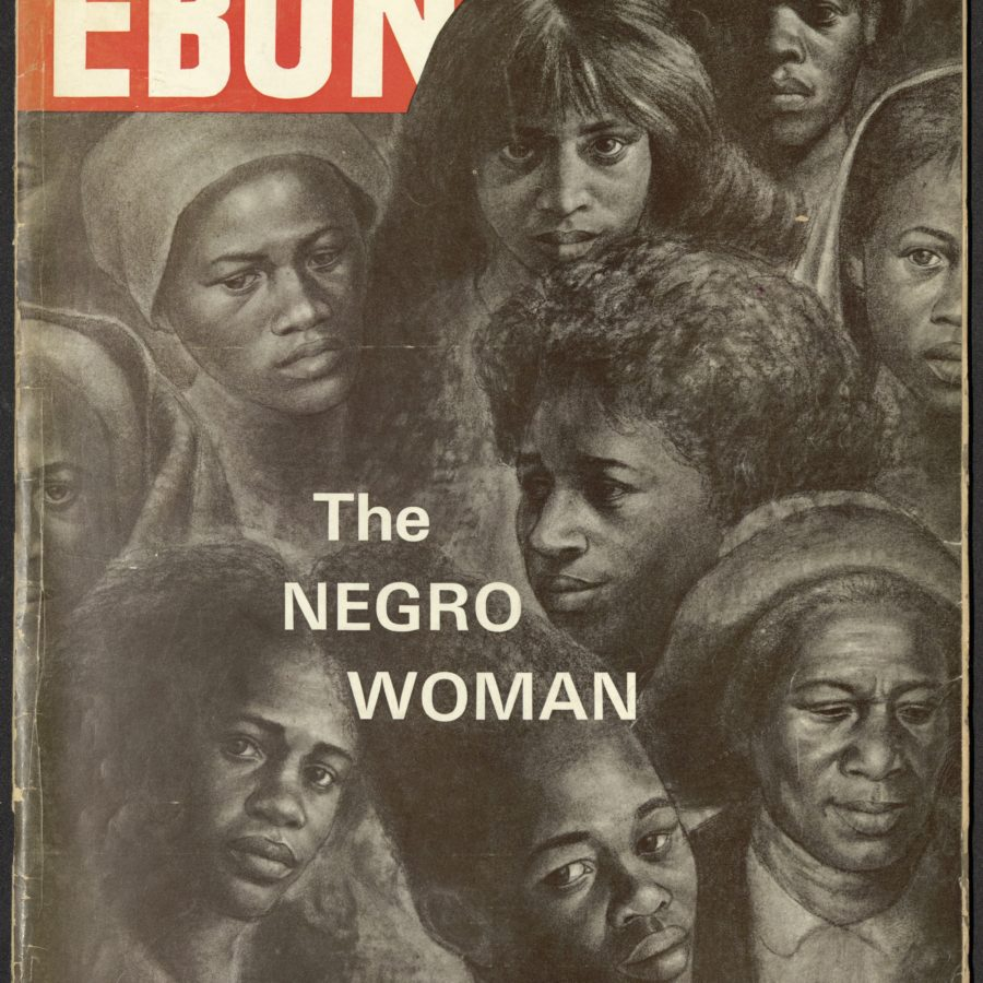 """Vanishing Farm Wife"" Ebony (Chicago, Ill.) 1966 August"