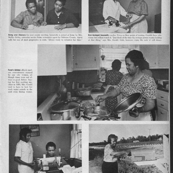 """Vanishing Farm Wife"" Ebony (Chicago, Ill.) 1966 August Atlanta University Center Robert W. Woodruff Library"