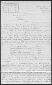 Erasmus Iyamur: Correspondence Clement, Rufus E., 1900-1984 1948 June 26 Rufus E. Clement records