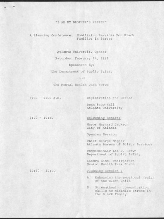 Cleveland Leon Dennard, 1929-1992 1981 February 14 Cleveland L. Dennard records