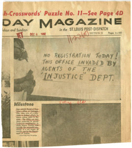 Milestone, St. Louis Post-Dispatchcirca 1960Johnson Publishing Company Clippings File Collection