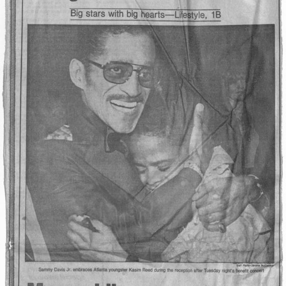 """""""A Night for the Children"""" 1981 March 11 Johnson Publishing Company clipping files collection"""