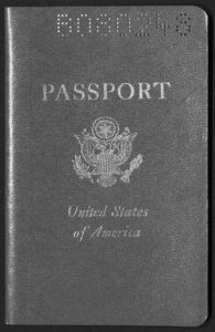 Passport, May 22, 1961 King, Willis J.1961 May 22 O9 Willis J. King papers