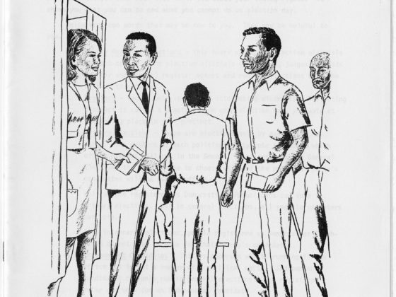 Know Your Voting Rights,North Carolina Voter Education Project,circa 1960,John Wheeler collection