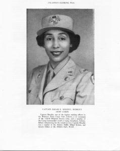 Captain Sarah E. Murphy, circa 1939-1945World War II vertical file