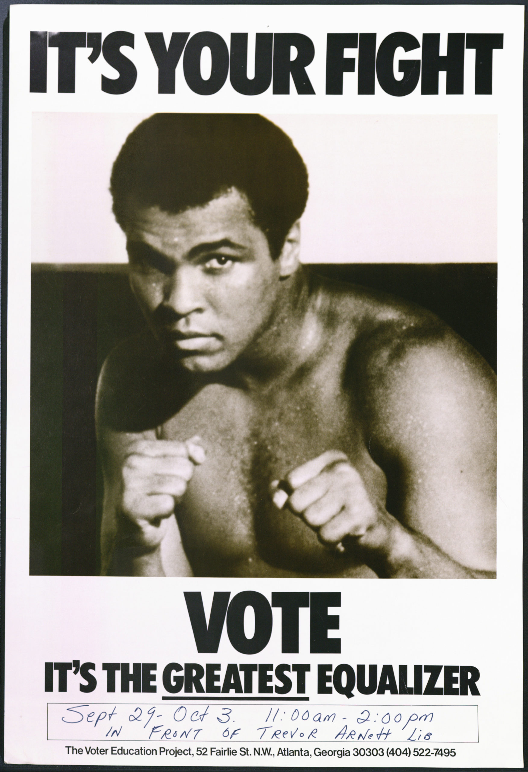 It's Your Fight, circa 1970Political Posters Collection