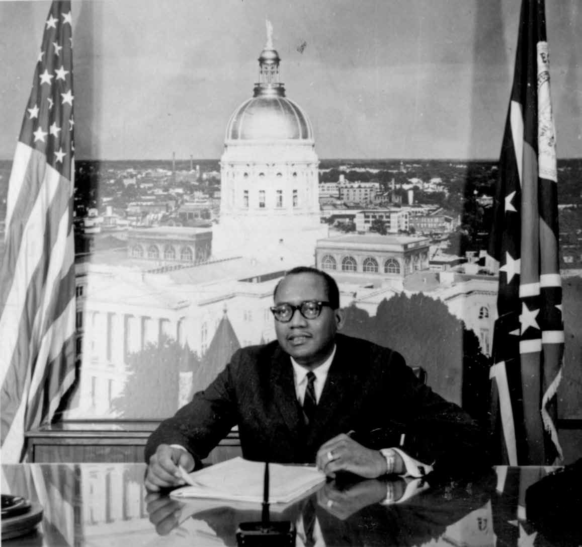 Leroy Johnson on running for mayor of Atlanta, Leroy Johnson, 1928- 1969 August 27 James P. Brawley Collection