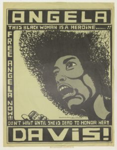 Angela Davis!: This Black Woman is a Heroine, undated, David Taylor Papers